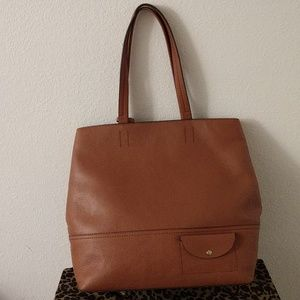 J Crew All-Day Leather Tote